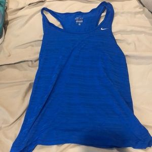 Size S women's Nike workout shirt.